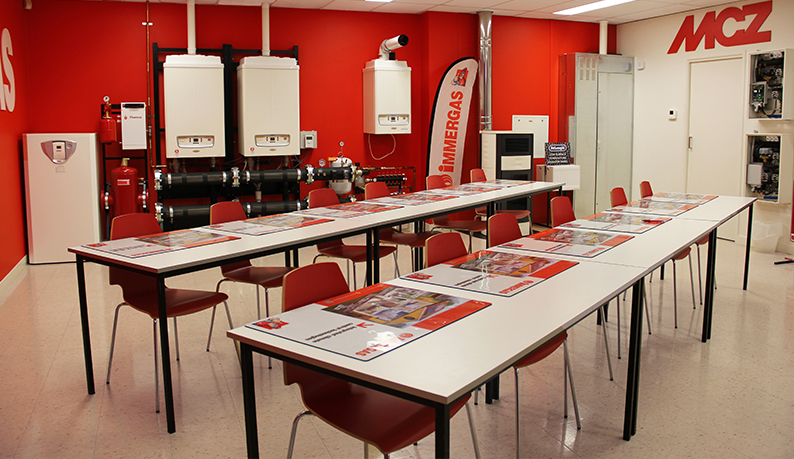 hunt heating commercial training rooms