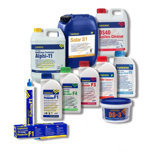 Fernox products no background